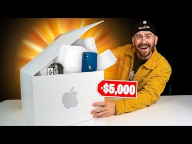 I Bought A $5000 Apple Mystery Box!!