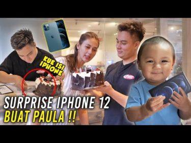 IPHONE 12 BLM DIJUAL,BAIM UDAH DAPET ‼️LANGSUNG ISENG MASUKIN KE DALEM KUE ‼️IPHONENYA MALAH RUSAK..