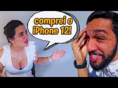 A Bruna teve CORAGEM de comprar o IPHONE 12 PRO!!!