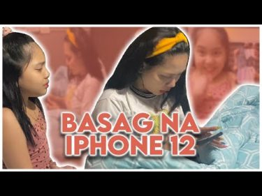 BINASAG NI TYRONIA ANG IPHONE 12 NI MOMMY ONI