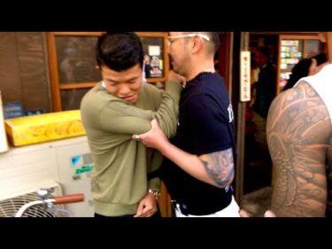 亀田和毅と西成で撮影中にヤ◯ザに喧嘩売られて警察沙汰になりました。