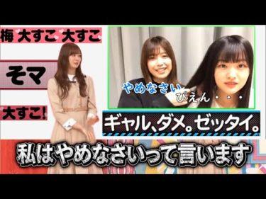 【乃木坂&欅坂】ギャル語を許さない坂道のお姉さん達