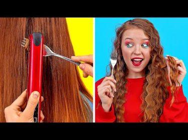 123GO!による女子向け髪のライフハック!
