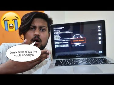 MY MACBOOK PRO GOT HACKED😱😭 | Exploring Dark Web