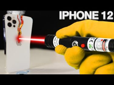 LASER VS IPHONE 12 PRO