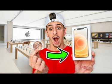 Trading a Penny FOR an iPhone 12 **IT WORKED**