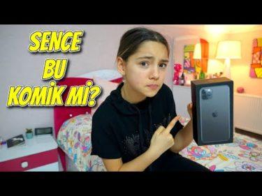 Melikeye İphone 11 Pro Max Şakası Yaptım Çok Kızdı (Gerçek)