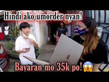 Macbook Prank delivery! (Nagwalk out sya sa sobrang hiya!)